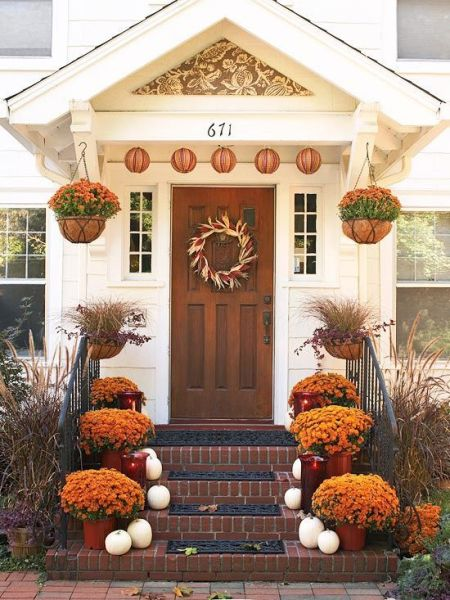 Discover. . .Fall Style for your Front Porch!